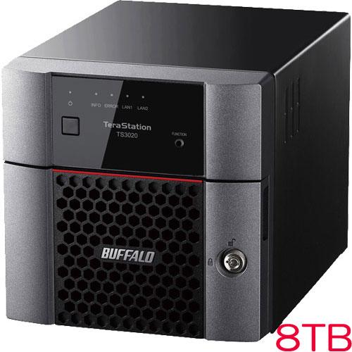 バッファロー TS3220DN0802 [TS3020DNシリーズ 2ベイデスクトップNAS 8TB]