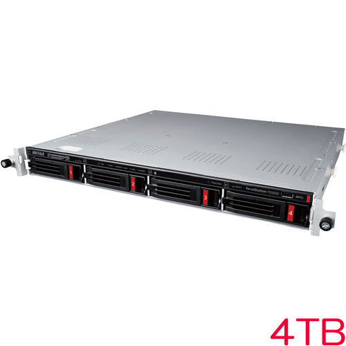 バッファロー TS3420RN0404 [TS3020RNシリーズ 4ベイラックマウントNAS 4TB]