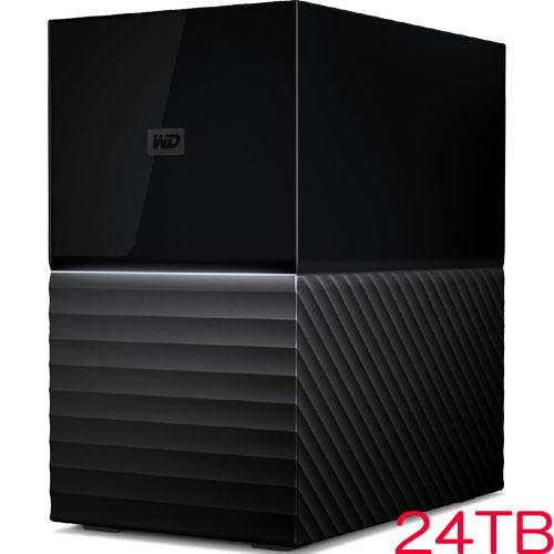 ウエスタンデジタル WDBFBE0240JBK-JESN [My Book Duo RAID対応ストレージ 24TB ブラック]