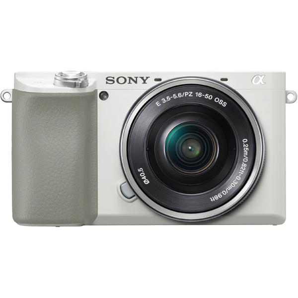 ソニー(SONY) ILCE-6100L/W [デジタル一眼カメラ α6100 パワーズームキット ホワイト]