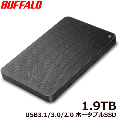 SSD-PL1.9U3-BK/N [USB3.1(Gen.1) ポータブルSSD 1.9TB ブラック]