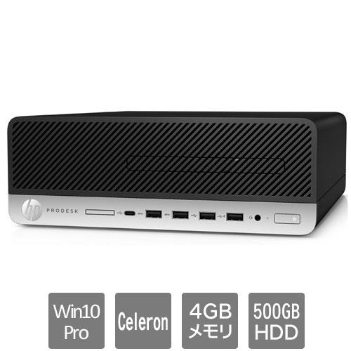 HP 8EN63PA#ABJ [600G5SF (Cerelon G4930 4GB HDD500GB Win10Pro64 VGA)]