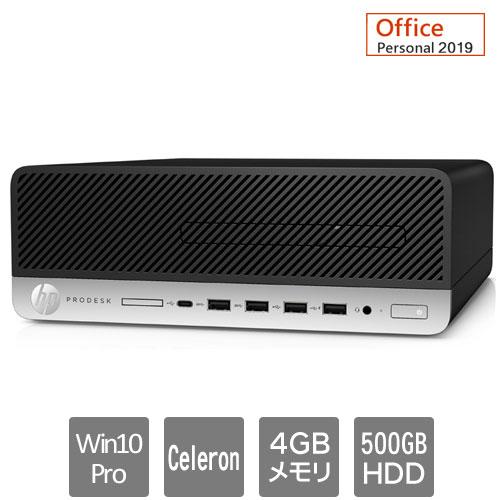 HP 8EN69PA#ABJ [600G5SF (Cerelon G4930 4GB HDD500GB Win10Pro64 Personal2019 VGA]