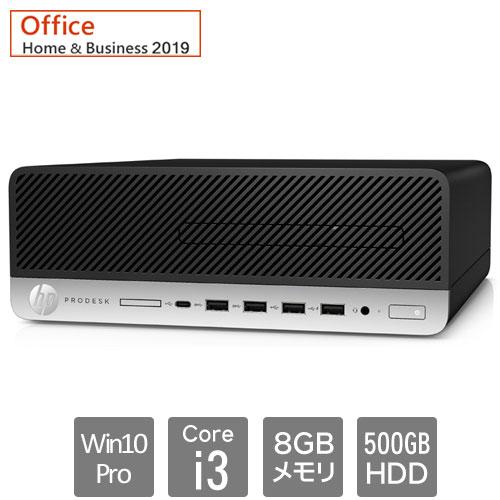 HP 8EN81PA#ABJ [600G5 SF (Core i3-9100 8GB HDD500GB Win10Pro64 H&B2019 VGA)]