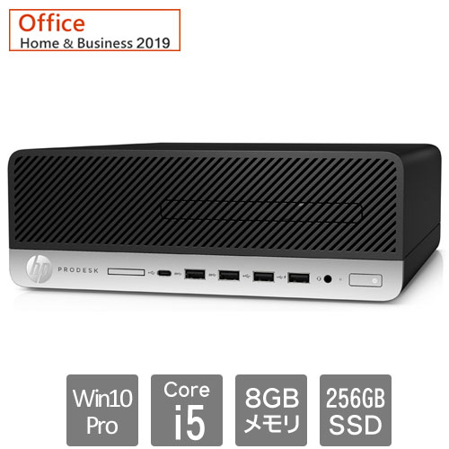 HP 8EN93PA#ABJ [600G5 SF (Core i5-9500 8GB SSD256GB Win10Pro64 H&B2019 VGA)]