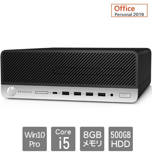 HP 8EN96PA#ABJ [600G5SF(Core i5-9500 8GB HDD500GB Win10Pro64 Personal2019 VGA)]