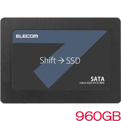 ESD-IB0960G [2.5インチ SATA接続内蔵SSD/960GB/セキュリティソフト付]