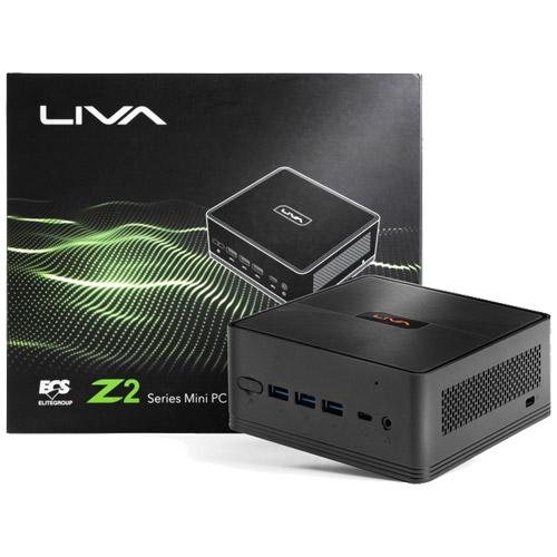 ECS LIVAZ2-8/256-W10Pro(N5000) [Pentium Silver N5000/メモリ8GB/eMMC 64GB + 256GB SSD/GbE/11ac/Win10 Pro]