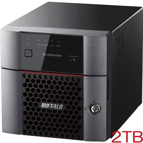 【ラベルライターラテコモニター販売】TS3210DN0202 [小規模オフィス・SOHO向2ドライブNAS 2TB]