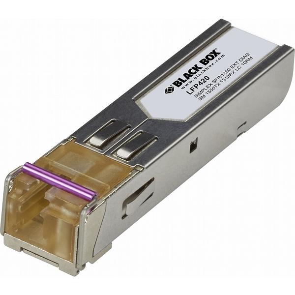 ブラックボックス・ネットワークサービス LFP420 [SFPモジュール 1250Mb SM 1550TX 1310RX LC]
