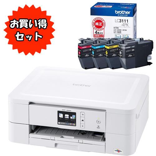ブラザー ★お買い得なインクセット★PRIVIO DCP-J582N & LC3111-4PK