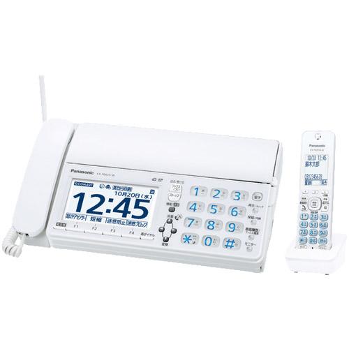 パナソニック おたっくす KX-PD625DL-W [デジタルコードレスファクス(子機1台)(ホワイト)]