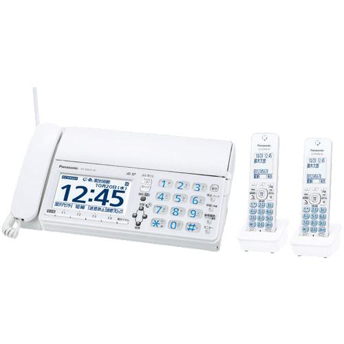 パナソニック おたっくす KX-PD625DW-W [デジタルコードレスファクス(子機2台)(ホワイト)]
