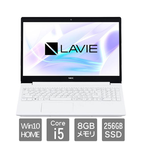 NEC PC-SN164JFDF-C [LAVIE Smart NS(Core i5/8GB/256GB/DSM/15.6/W10H64/WH)]