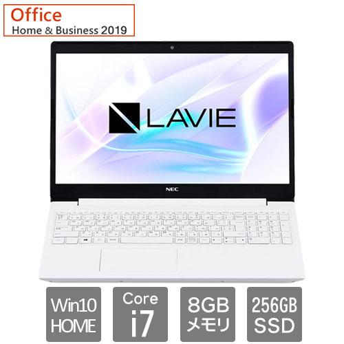 PC-SN186JFDF-D [LAVIE Smart NS(i7 8GB SSD256GB DSM 15.6FHD W10H64 H&B2019 WH)]
