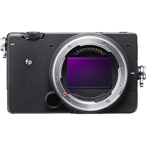 シグマ ミラーレス一眼カメラ SIGMA fp ボディ 35mmフルサイズ 有効2460万画素 Lマウント