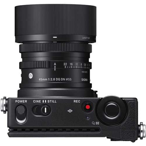 シグマ fp & 45mm F2.8 DG DN kit [ミラーレス一眼カメラ SIGMA fp Contemporary 45mm F2.8 DG DN レンズキット]