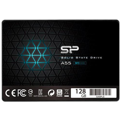 SSD A55 SPJ128GBSS3A55B [【SSD】SATA3 2.5インチ 7mm 128GB]