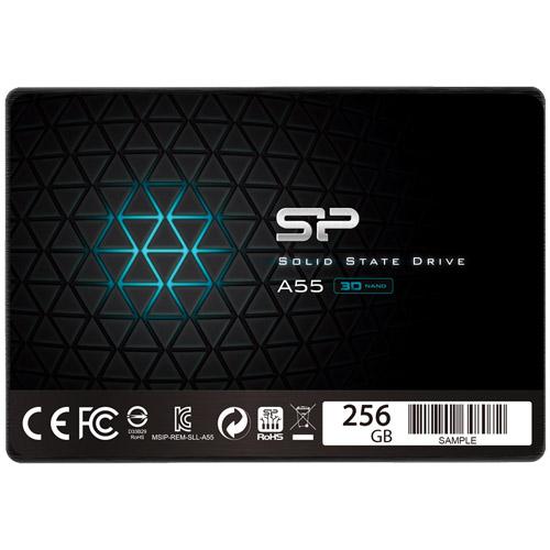 SSD A55 SPJ256GBSS3A55B [【SSD】SATA3 2.5インチ 7mm 256GB]