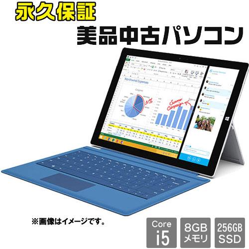 マイクロソフト ☆永久保証の美品中古PC!☆1631 [Surface Pro 3(Core i5 8GB SSD256GB 12 W10P64)]