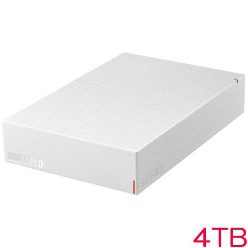 HD-LE4U3-WA [USB3.2(Gen.1)対応外付HDD 4TB ホワイト]