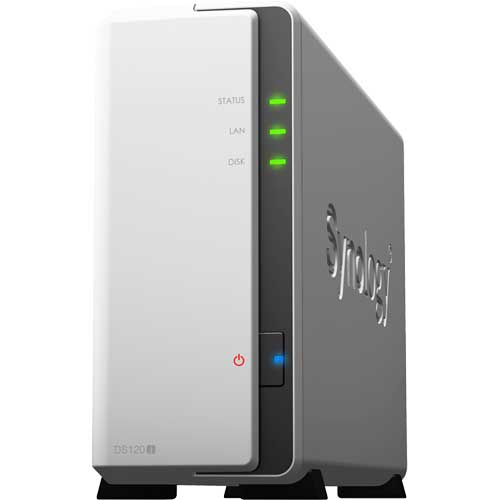 Synology DS120j [DiskStation 1ベイ NAS 2コア64bit CPU 512MBメモリ SATA対応]