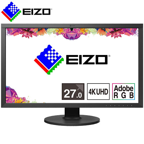 ナナオ(EIZO) CS2740-BK [液晶モニター ColorEdge CS2740 26.9インチ 4K液晶ディスプレイ]