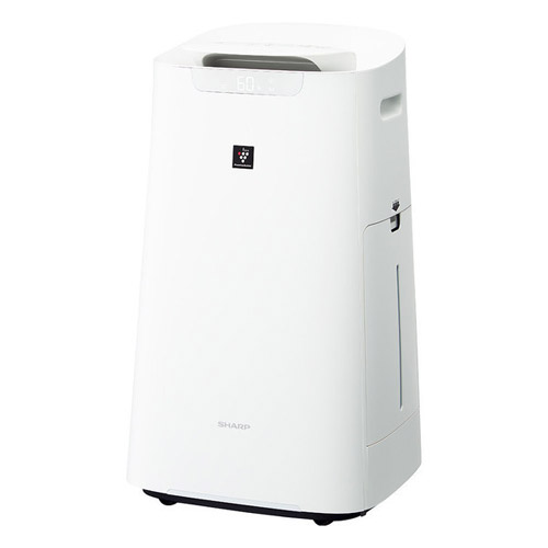 シャープ KI-LX75-W [プラズマクラスター加湿空気清浄機 ホワイト系]
