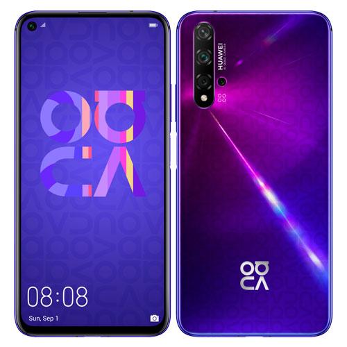 ファーウェイ(Huawei) Nova5T/MidsummerPurple(Yale-L61D) [Nova 5T/Midsummer Purple/51094RXT]