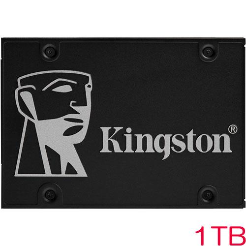 キングストン Kingston KC600 SKC600/1024G [KC600 2.5inch SATA3 SSD 1TB 7mm 3D TLC]