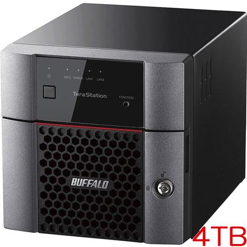 【ラベルライターラテコモニター販売】TS3210DN0402 [小規模オフィス・SOHO向2ドライブNAS 4TB]