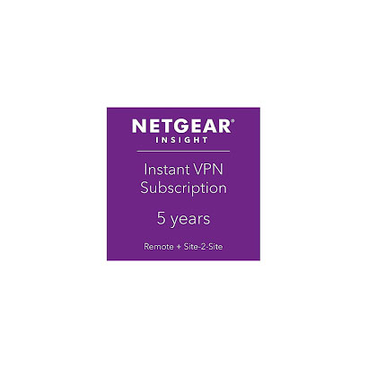 NETGEAR Insight Proライセンス NPVNY5L1-10000S [Insight Pro VPNライセンス 1VPNグループ 5年間]