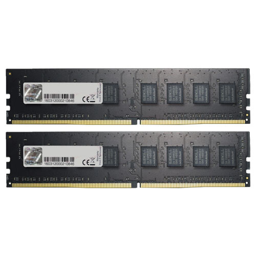 G.SKILL F4-2400C17D-16GNT [Value 16GB (8GBx2) DDR4 2400Mhz (PC4-19200) CL17-17-17-39 1.20V]