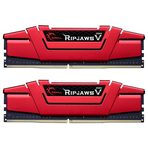 G.SKILL F4-2133C15D-16GVR [Ripjaws V 16GB (8GBx2) DDR4 2133Mhz (PC4-17000) CL15-15-15-35 1.20V Red]