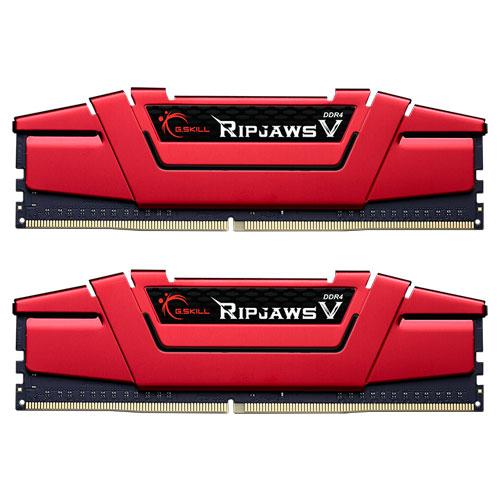 G.SKILL F4-2133C15D-8GVR [Ripjaws V 8GB (4GBx2) DDR4 2133Mhz (PC4-17000) CL15-15-15-35 1.20V Red]