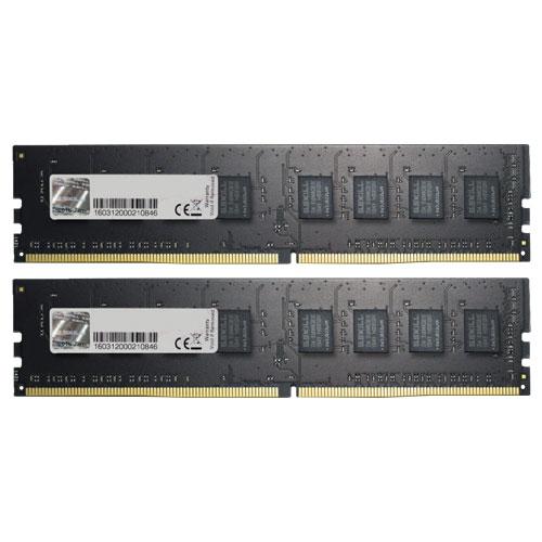 G.SKILL F4-2400C15D-8GNT [Value 8GB (4GBx2) DDR4 2400Mhz (PC4-19200) CL15-15-15-35 1.20V]