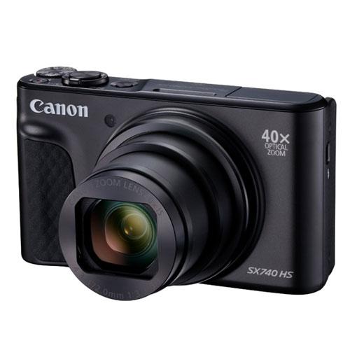 キヤノン デジタルカメラ PowerShot SX740 HS (ブラック)