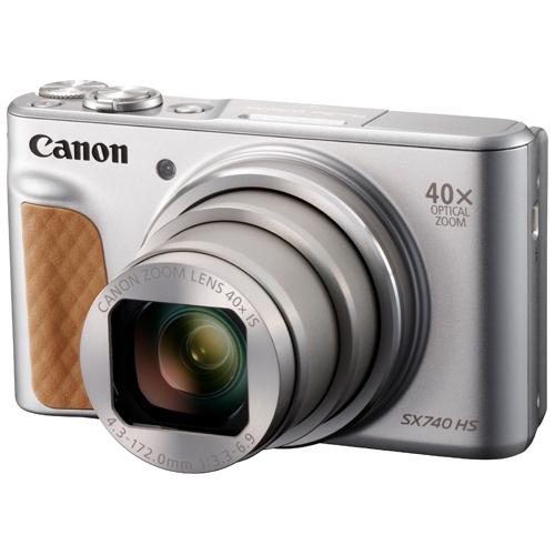 キヤノン デジタルカメラ PowerShot SX740 HS (シルバー)