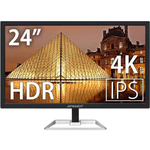 JAPANNEXT JN-IPS244UHDR [4K 24インチ液晶ディスプレイ UHD HDCP2.2 HDMI2.0 FreeSync PCモニター]