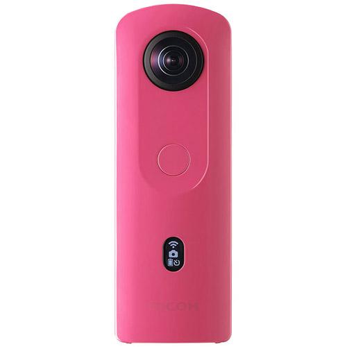 全天球カメラ RICOH THETA SC2 ピンク