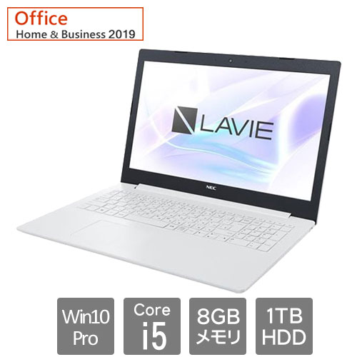 NEC PC-GN164JFJLAGFD1TDA [LAVIE Direct NS (Core i5 8GB HDD1TB Win10Pro64 15.6 BD H&B2019)]