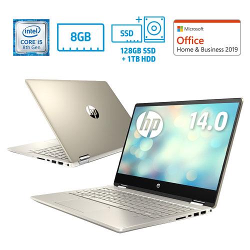 HP ★台数限定★7QJ78PA-AAAE [HP Pavilion x360 14-dh (14 i5 8G SSD128+HD1TB HB2019)]