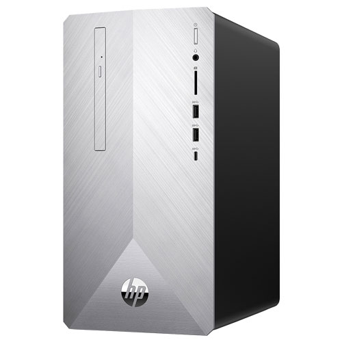 HP HP Pavilion 595-p(i5-9400/8GB/SSD256GB+HDD2TB/RX550)ブラッシュドシルバー 6DW08AA-AAMA