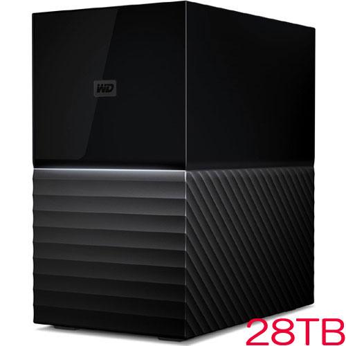 ウエスタンデジタル WDBFBE0280JBK-JESN [My Book Duo RAID対応テストレージ 28TB ブラック]
