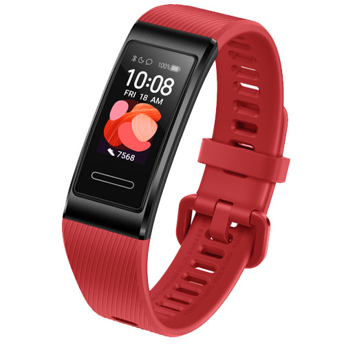 ★限定特価★TER-B19S/Cinnabar Red [HUAWEI Band 4 pro/Cinnabar Red]