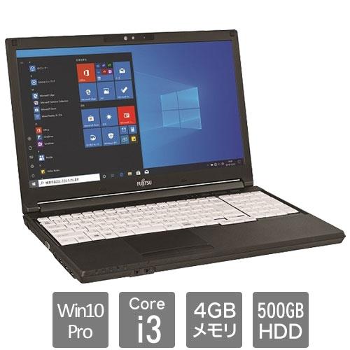 富士通 バリュー LIFEBOOK FMVA6602AP [LIFEBOOK A579/CX (Core i3 4GB HDD500GB SM Win10Pro64 15.6HD)]