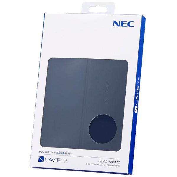 NEC LAVIE Tab オプション PC-AC-AD017C [PC-TE508KAS/PC-TAB08H01用カバー&保護フィルム]
