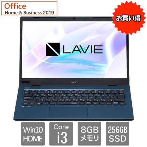 NEC ★限定特価★PC-SN212TADG-D [LAVIE Smart HM(i3 8GB SSD256GB 14FHD W10 H&B2019 BL)]