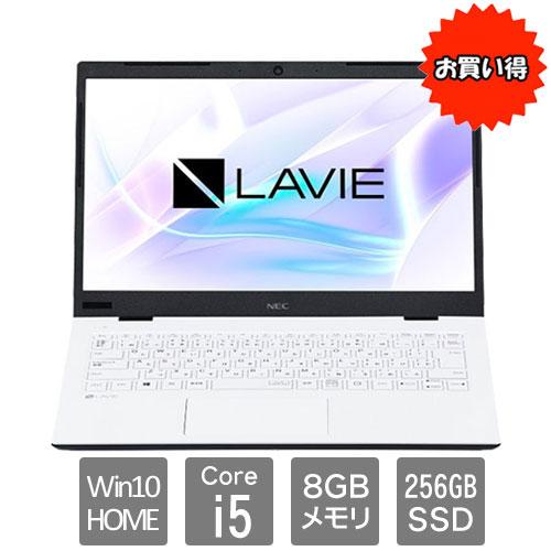 NEC ★限定特価★PC-SN164RADG-C [LAVIE Smart HM(i5-8265U 8GB SSD256GB 14FHD W10 WH)]