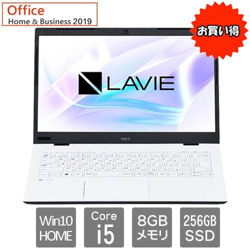 NEC ★限定特価★PC-SN164RADG-D [LAVIE Smart HM(i5-8265U 8GB SSD256GB 14FHD W10 H&B2019)]
